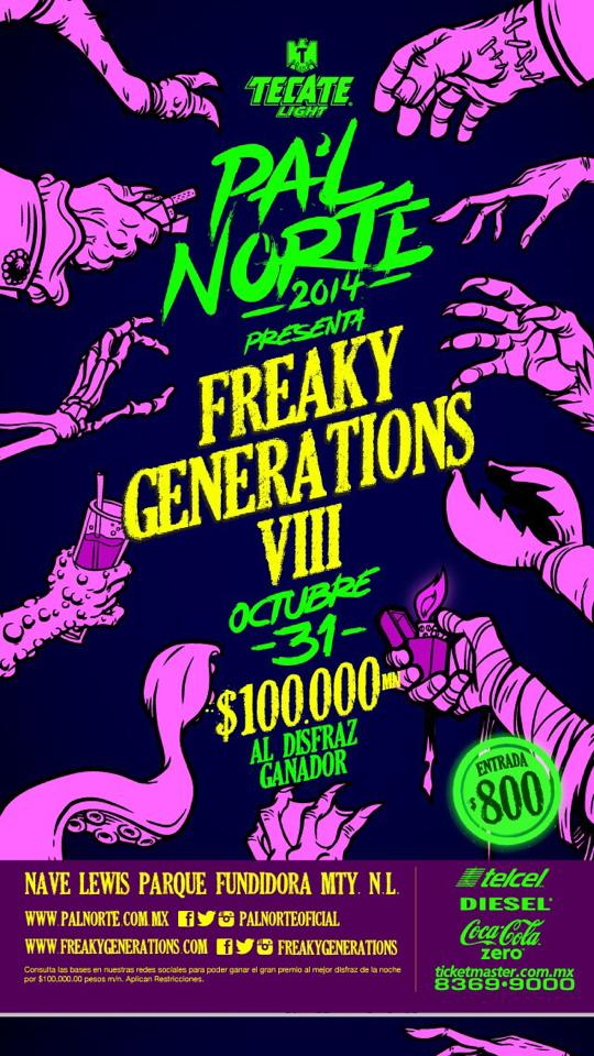 pal norte freaky generations