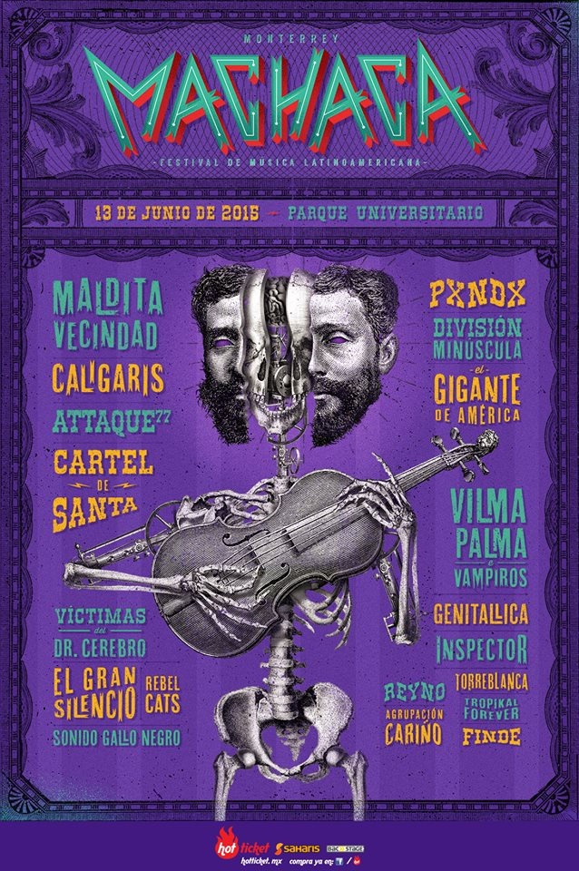 Cartel Machaca 2015