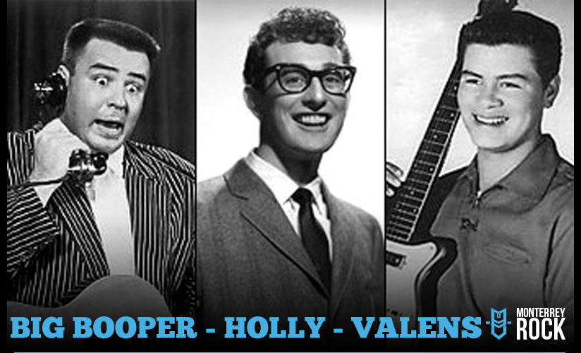 buddy - holly - valens - big - booper - accidente