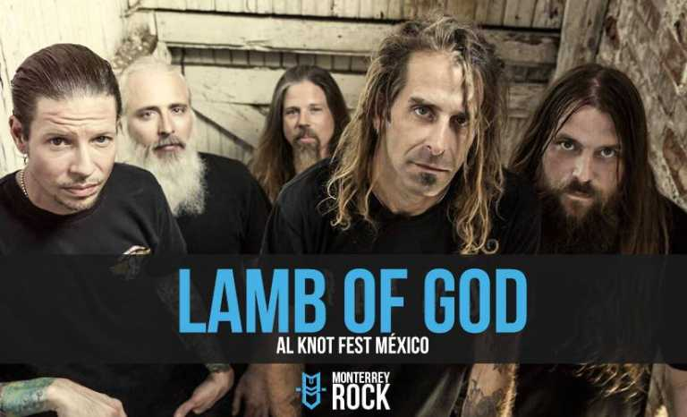 Lamb of God en el Knot Fest