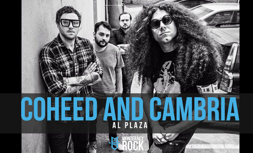 coheed - cambria - plaza - mexico
