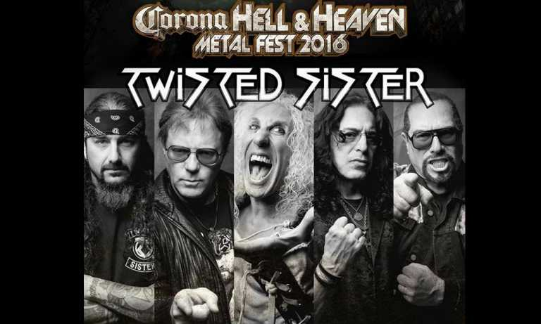 Twisted Sister al Hell and heaven