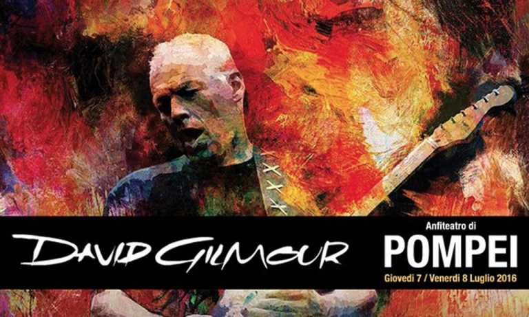 David Gilmour: de regreso en Pompeya