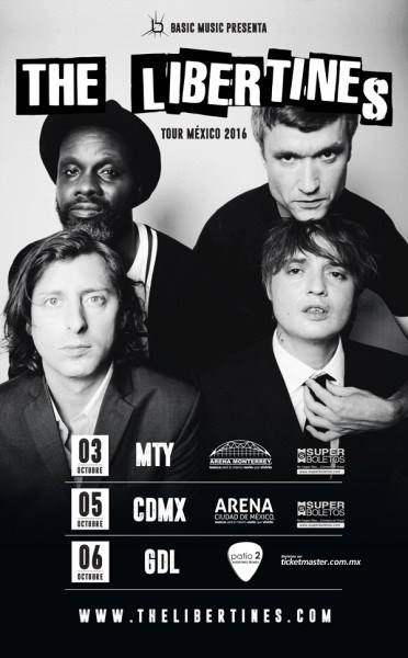 the libertines arena monterrey 2016