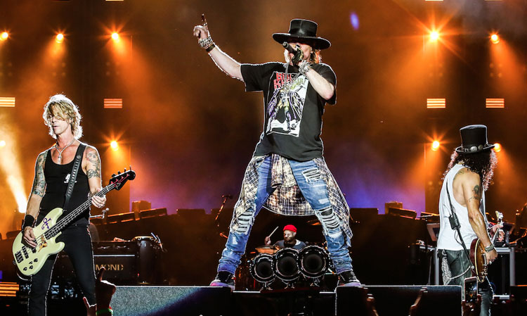 Guns N' Roses tocará su setlist de tres horas en el Mother Of All