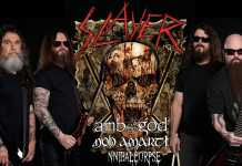Slayer, Lamb of God, CannibalCorpse, Amon Amarth en Edimburg, texas
