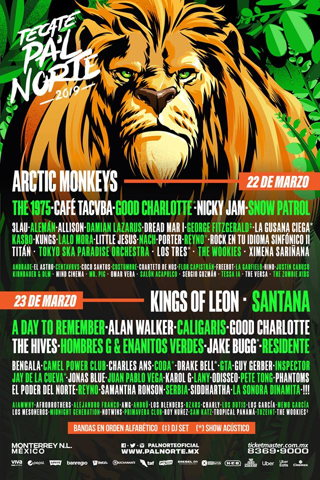 Cartel Pal Norte 2019