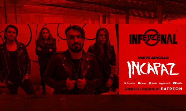 "Inferzenal estrena su nuevo video ""Incapaz"""