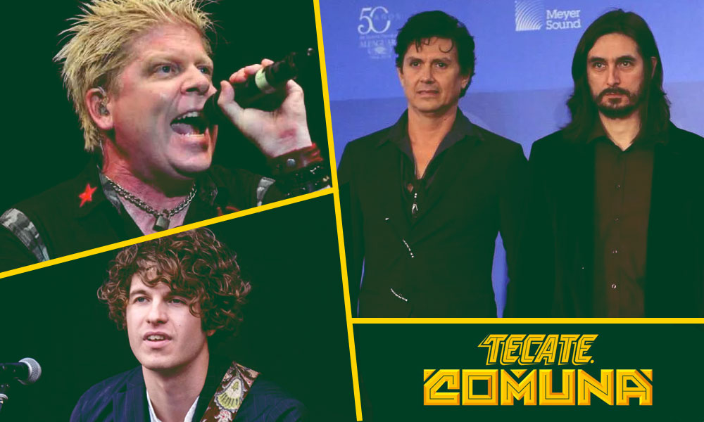 Caifanes, The Offspring y The Kooks encabezan el Tecate Comuna 2019