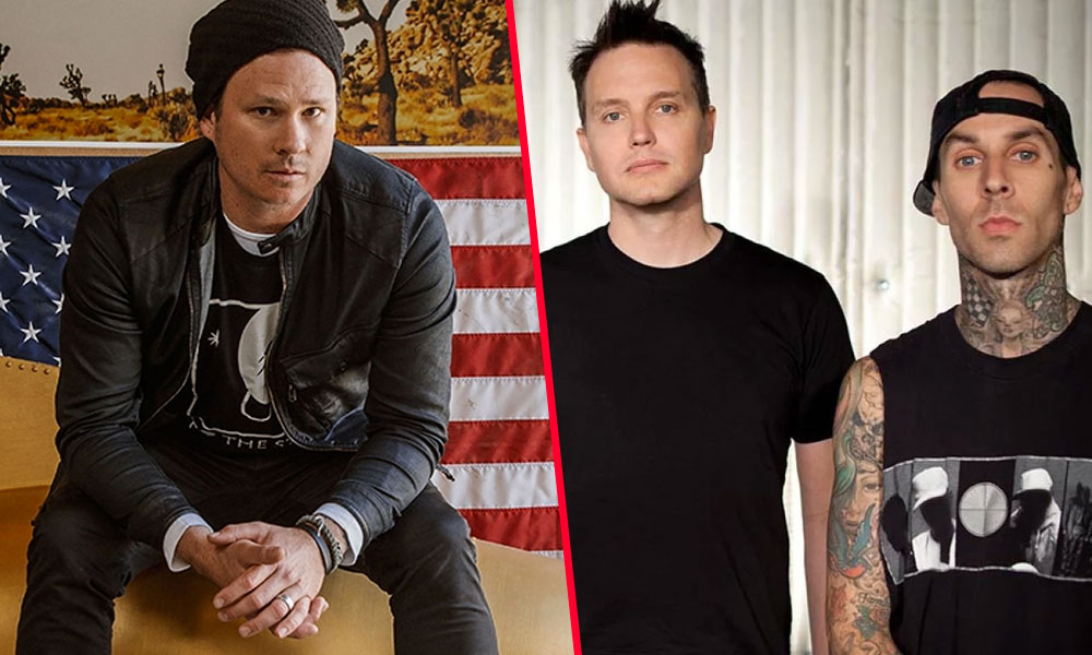 Tom DeLong unión Blink 182