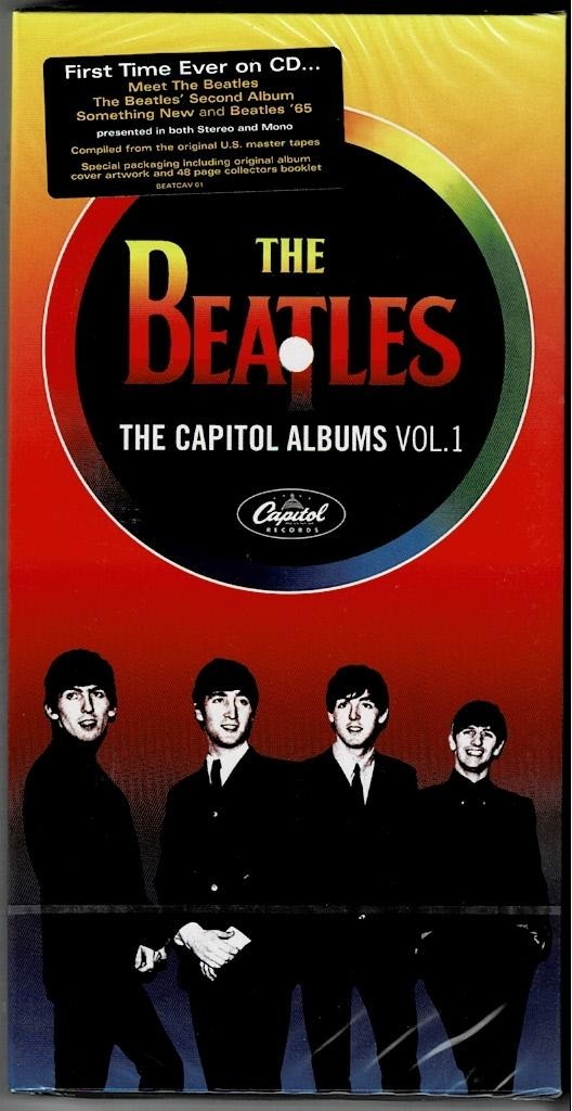 Beatles por primera vez en cd