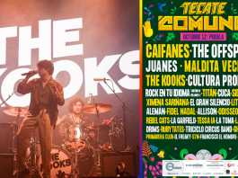 the kooks cancela tecate comuna 2019
