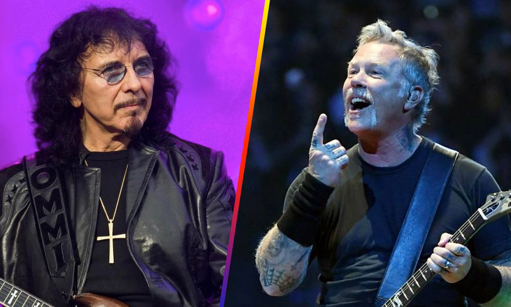 tony iommi manda mensaje a james hetfield