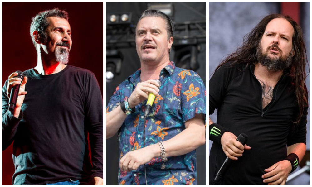 korn system of a down faith no more