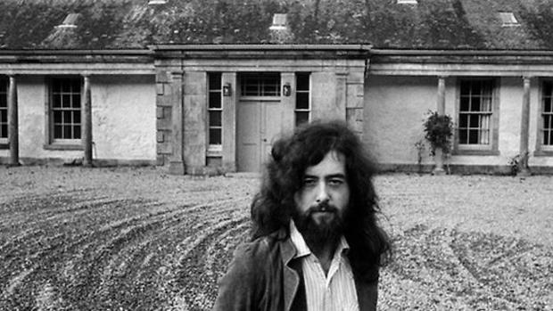 jimmy page ocultismo