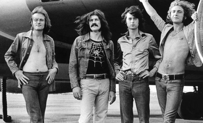 Led Zeppelin, la mejor banda de rock en la historia