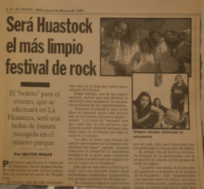 huastock 1995 - 2