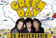 25 aniversario de Dookie de Green Day