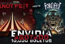 Knotfest meets ForceFest vende 10 mil boletos en Early Bird