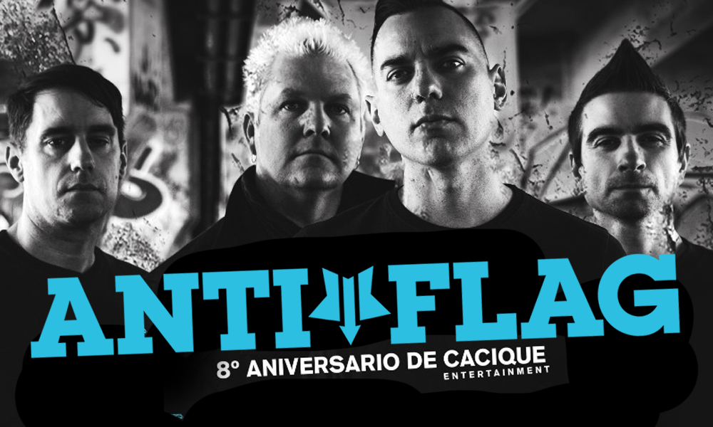 anti-flag en Monterrey 2019