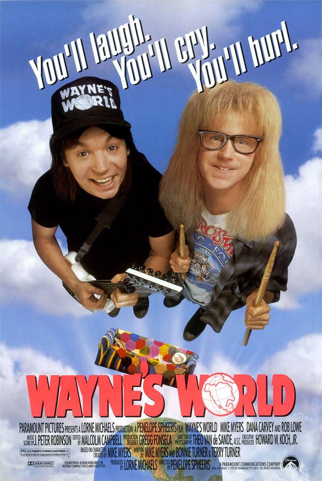 Póster Wayne's World