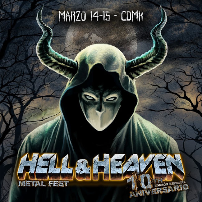 Póster Hell and Heaven 2020