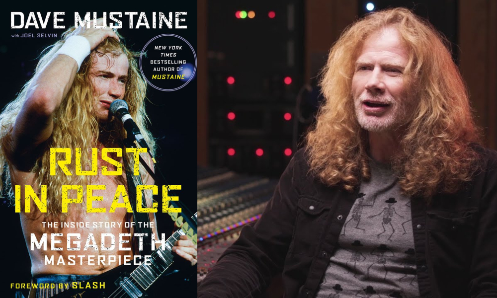 dave maustaine megadeth rest in peace book libro