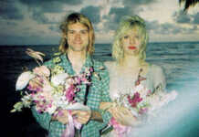 la boda de Kurt Cobain y Courtney Love