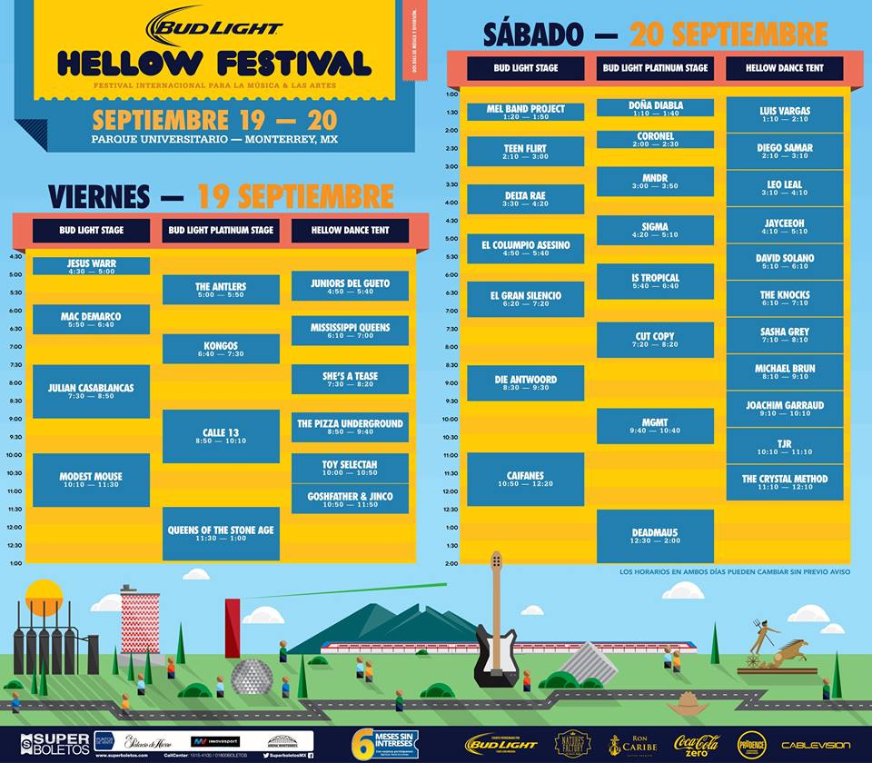 horarios hellow festival 2014 queens of the stone age