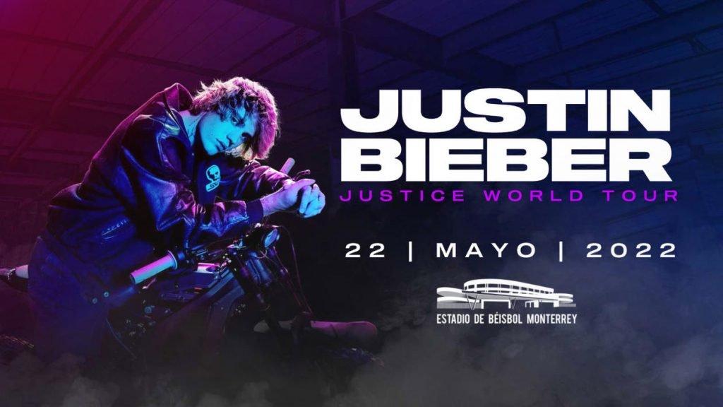 Justin Bieber en Monterrey 2022